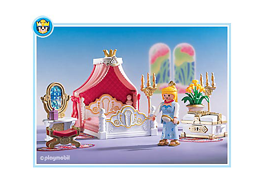 schlafzimmer himmelbett 3020 a playmobil sterreich - Playmobil Chambres Princesses