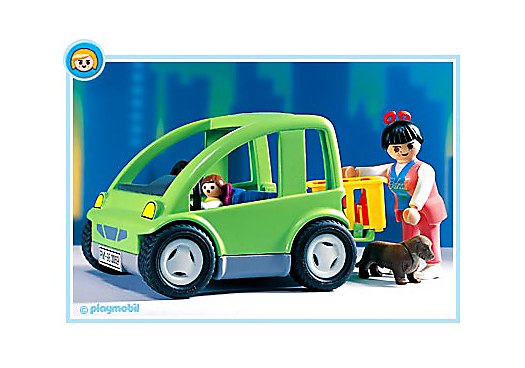 voiture de ville 3069 a playmobil france. Black Bedroom Furniture Sets. Home Design Ideas