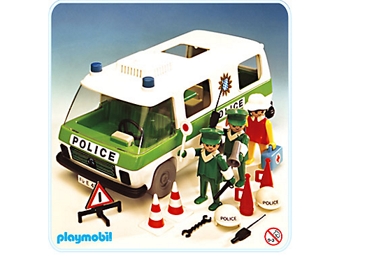 Camion police 3253 a playmobil france - Playmobil camion police ...