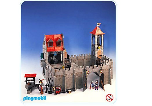 Burg 3450 a playmobil deutschland for Plan chateau fort playmobil