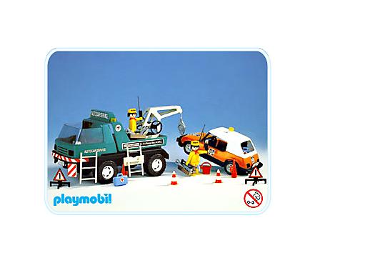 Autocar service 3473 a playmobil deutschland - Autocar playmobil ...