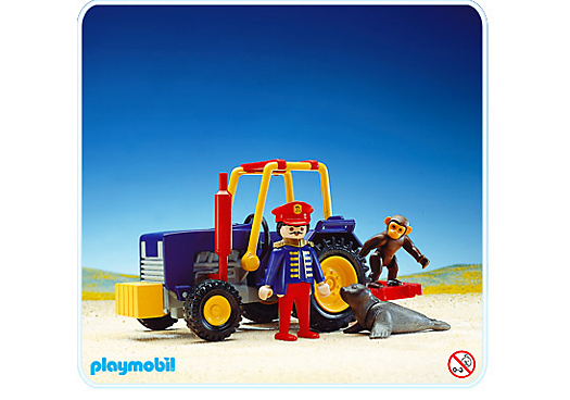 Tracteur de cirque 3734 a playmobil france - Cirque playmobil ...