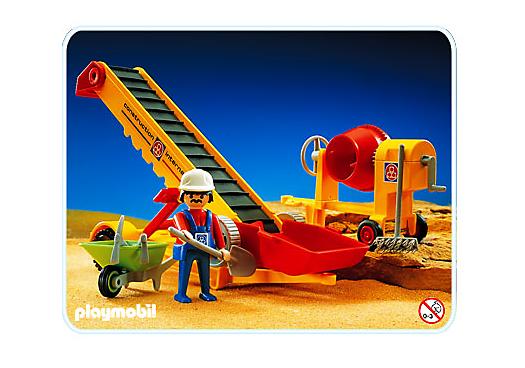 Transporteur bande b tonni re 3759 a playmobil france - Betonniere playmobil ...