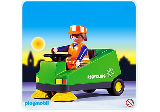 Eboueur v hicule de nettoyage 3790 a playmobil france - Jeux de nettoyage de hotel ...