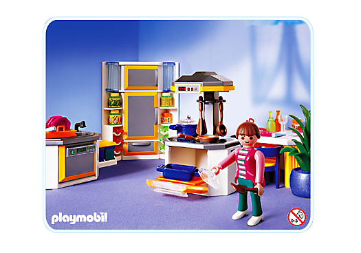 Design cuisine moderne playmobil montpellier 1139 for Cuisine playmobil