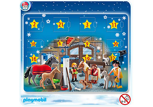 adventskalender reiterhof 4159 a playmobil deutschland. Black Bedroom Furniture Sets. Home Design Ideas