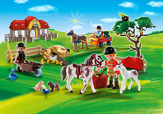 Advent Calendar Pony Farm with Great Additional Surprises