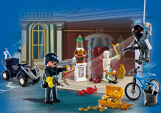 Advent Calendar Police with Cool Additional Surprises