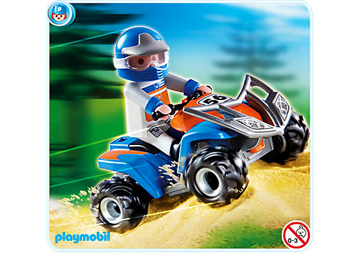 racing quad 4229 a playmobil deutschland. Black Bedroom Furniture Sets. Home Design Ideas