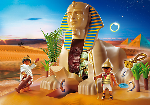 Sphinx with Mummy