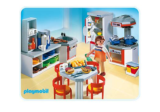 Cuisine quip e 4283 a playmobil france - Cuisine equipee france ...