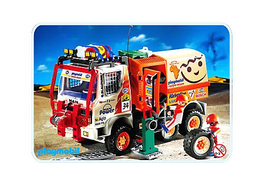Pilotest camion de rallye 4420 a playmobil france - Playmobil camion ...