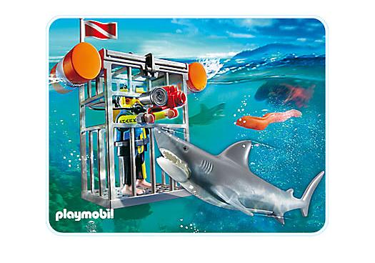 Haifisch taucher 4500 a playmobil deutschland for Playmobil la piscine