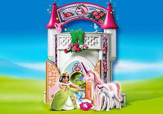donjon licorne playmobil