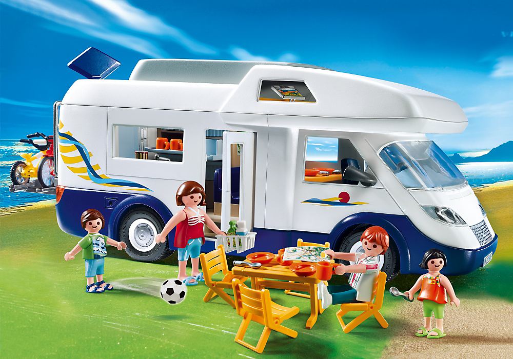 Pon una autocaravana en tu vida aunque sea de juguete for Autocaravana playmobil