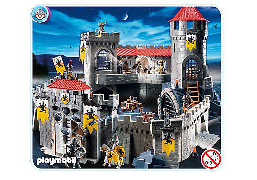 4865 ch teau fort des chevaliers du lion de playmobil. Black Bedroom Furniture Sets. Home Design Ideas