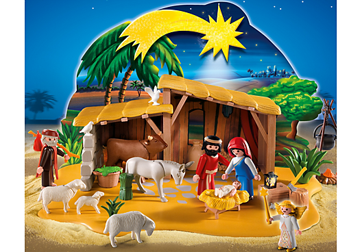 Nativity Manger with Stable
