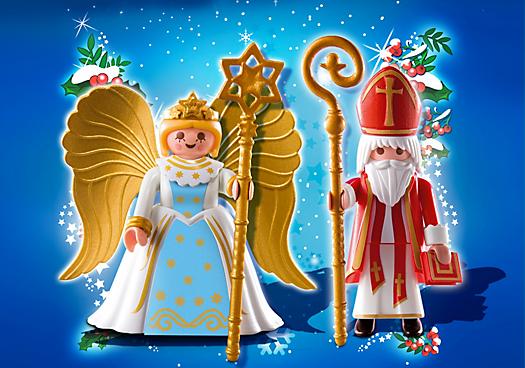 Saint Nicholas and Angel