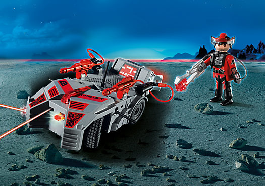 Darksters' Explorer with IR Knockout Cannon