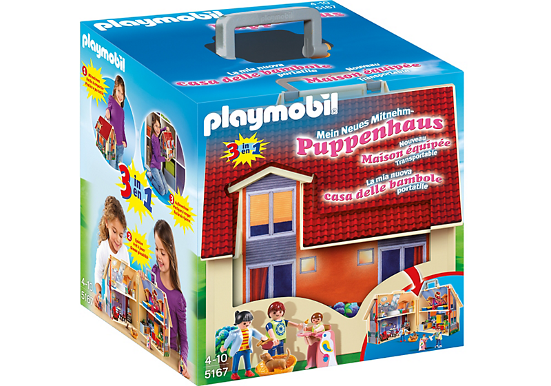 Playmobil Haus - Neues Mitnehm-Puppenhaus