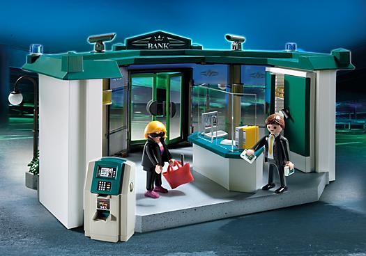 Banco con Caja Fuerte