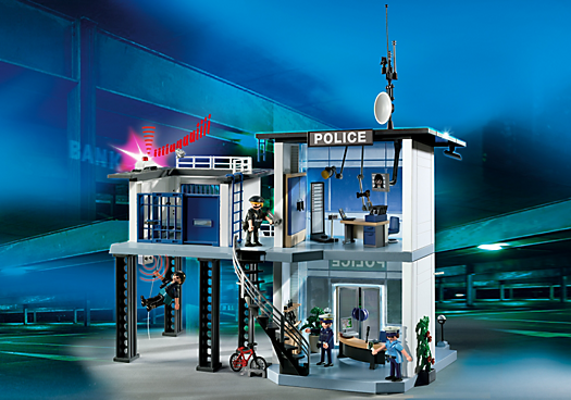 Police Station with Alarm System