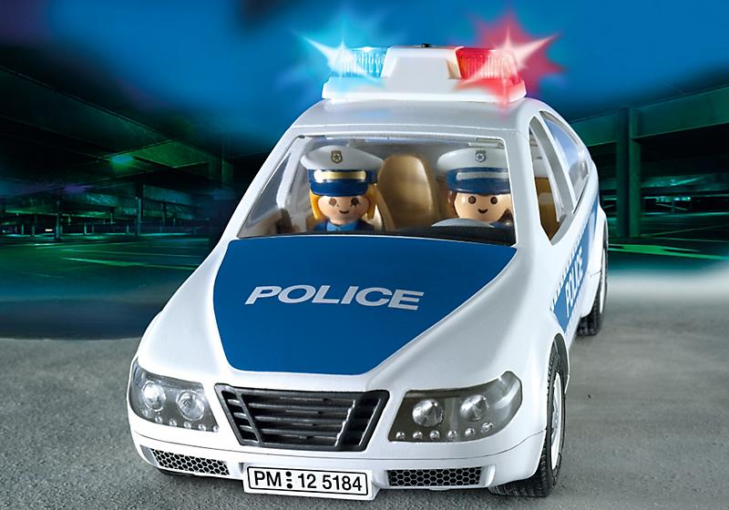playmobil 5184 voiture de police achat vente univers miniature cdiscount. Black Bedroom Furniture Sets. Home Design Ideas
