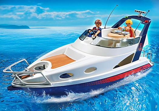 yacht de luxe 5205 playmobil france. Black Bedroom Furniture Sets. Home Design Ideas