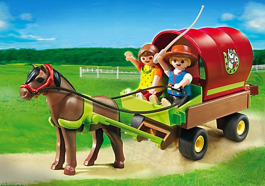 Children`s Pony Wagon