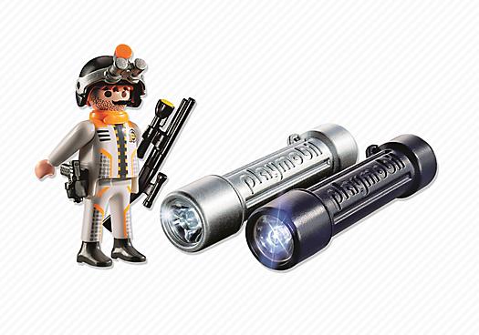 Headlight with Spy Team Agent