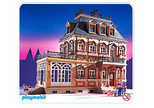 B rgerhaus gro es puppenhaus 5300 a playmobil for Modernes haus playmobil