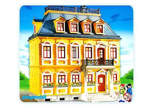 Maison traditionnelle 5301 a playmobil france for Modele maison playmobil