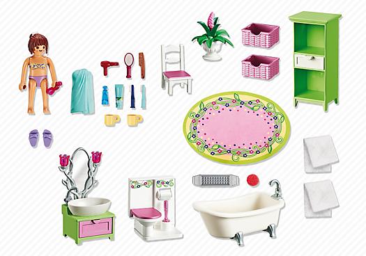 Playmobil 5308 Woonkamer met houtkachel [5308] - Playmobil Dollhouse