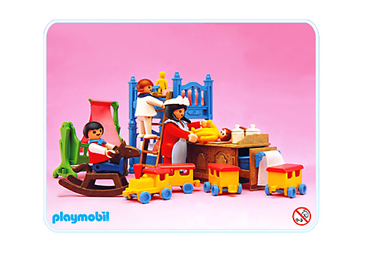 Chambre d enfants 5311 a playmobil france - Playmobil chambre enfant ...