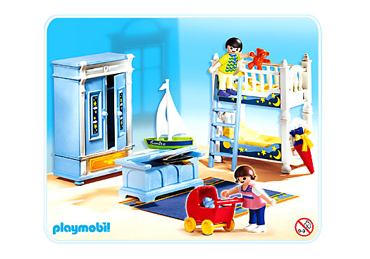 Kinderzimmer mit stockbetten 5328 a playmobil deutschland for Kinderzimmer playmobil