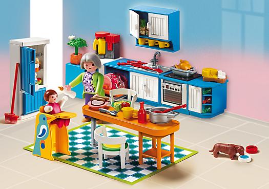 Cuisine 5329 playmobil france for Playmobil cuisine