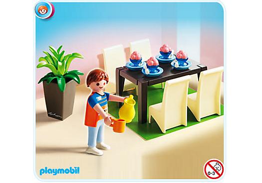 5335 salle manger de playmobil for Salle a manger playmobil