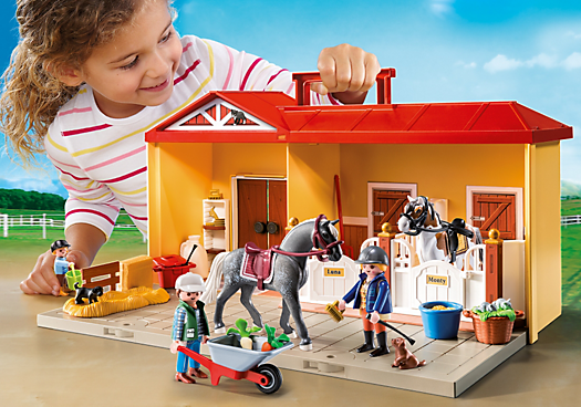 Playmobil Take Along Horse Stable Take Along Horse Stable