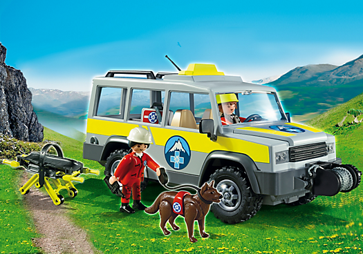 Mountain Rescue Truck
