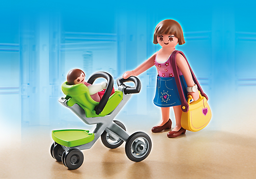 Playmobil for both kids to share