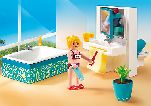 Modernes badezimmer 5577 playmobil deutschland for Salle a manger playmobil city life