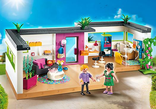 5586 studio invits - Maison Moderne Playmobil