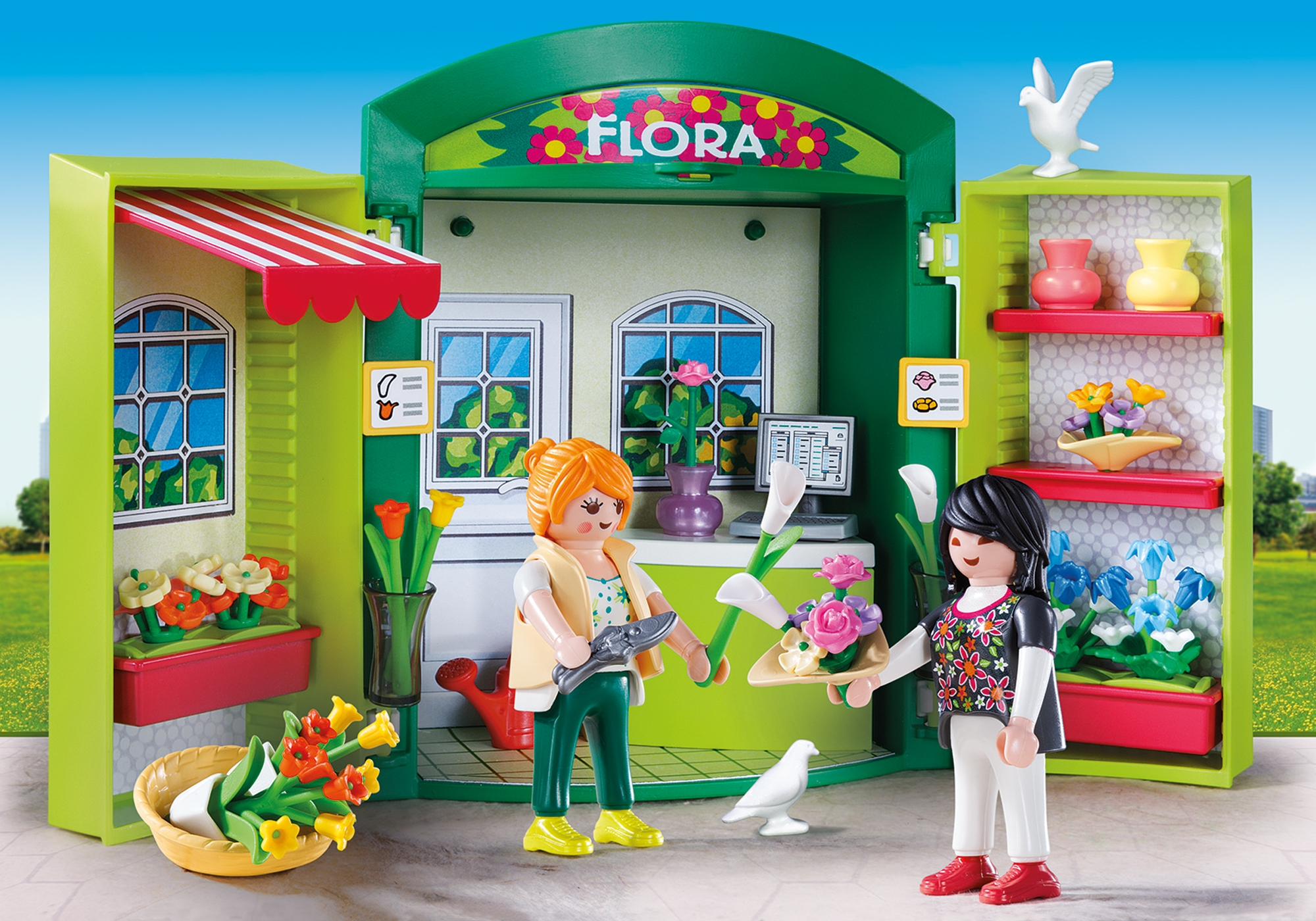 Flower Shop Play Box