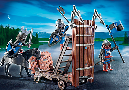 Blue Knights with Battering Ram