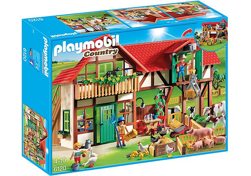 Playmobil Haus - Playmobil Großer Bauernhof
