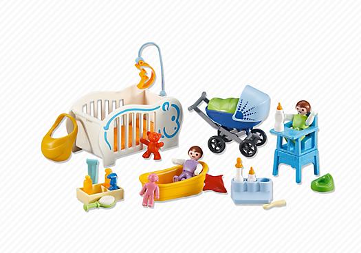 baby starter pack 6226 playmobil united kingdom. Black Bedroom Furniture Sets. Home Design Ideas