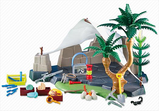 Explorer`s Campsite