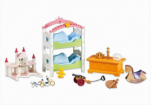 Chambre royale des enfants 6303 playmobil france - Playmobil chambre enfant ...