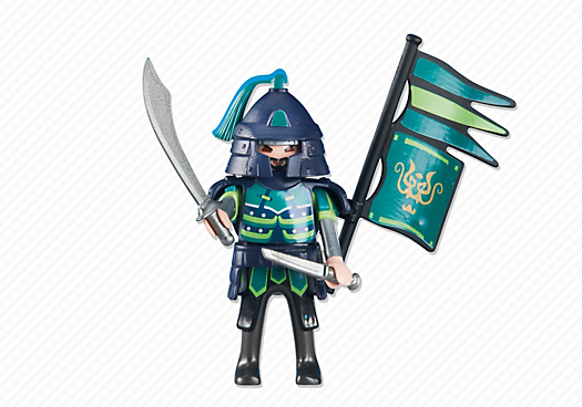 Green Samurai Knights Leader