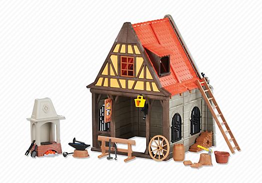 Medieval Blacksmith`s Shop